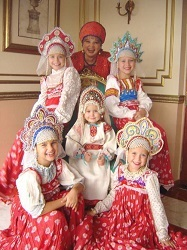 costume traditionnel russe